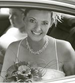 Joanna - Pearl & Crystal Wedding Necklace (White Opal)-Bespoke